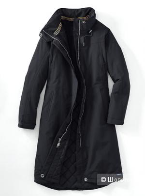 Пальто LANDS END (14-16) Черное Очень крутое