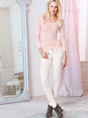 Продам новые вельветовые брючки Victoria`s Secret: CORDUROY MID-RISE SIREN. Мятного цвета, размер 0, длина Regular.