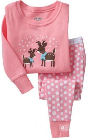 Новая пижамка с оленями