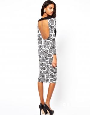 Продам новое платье-футляр с открытой спиной. Размер 10 UK.