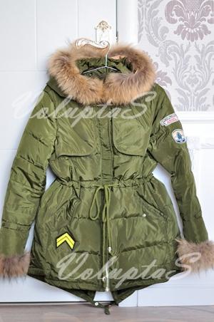Зимняя куртка по типу парки