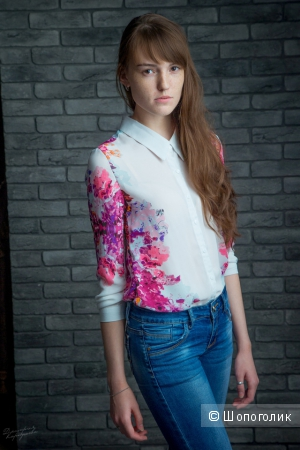 Шифоновая блуза)
