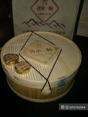 Шу пуэр 2003 года в подарочной упаковке