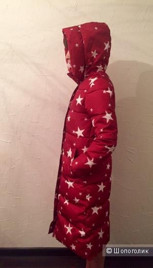 Длинная куртка со звёздами