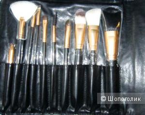 Набор кистей для макияжа Cerro Qreen 10шт