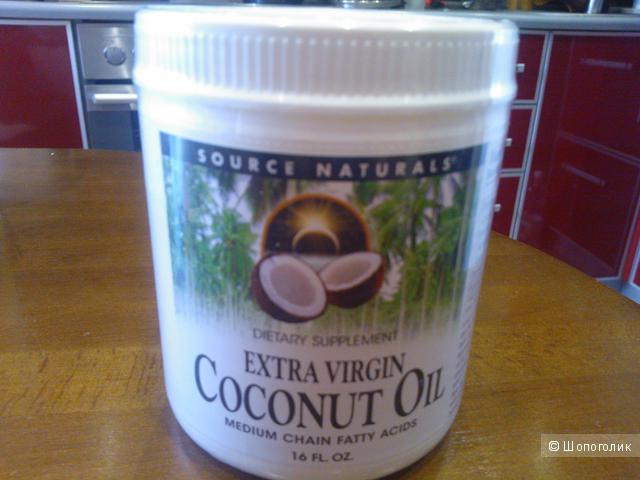 Масло кокоса экстра класса Source Naturals