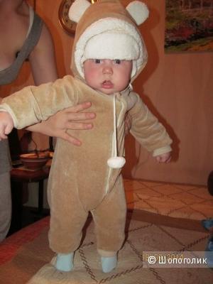 Комбинезон для малышей, органический хлопок