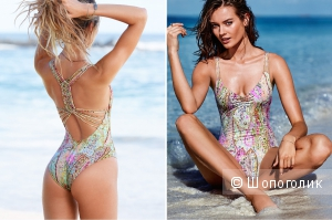 Продаю купальник Victoria's secret сплошной Beach Sexy NEW! Macramé One-piece размер S