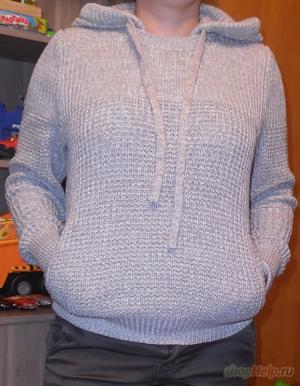 Красивый удобный свитер Hooded Sweater