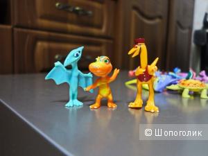 Поезд Динозавров - комплект детских игрушек