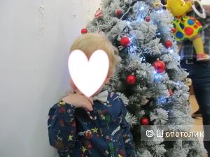 Рубашка новогодняя для мальчика