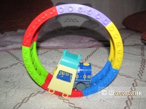 Трек с поездом игрушечный, разноцветный, TOMY