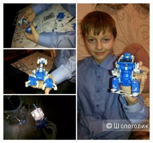 """Робот-трансформер """"собери сам"""" детский"""