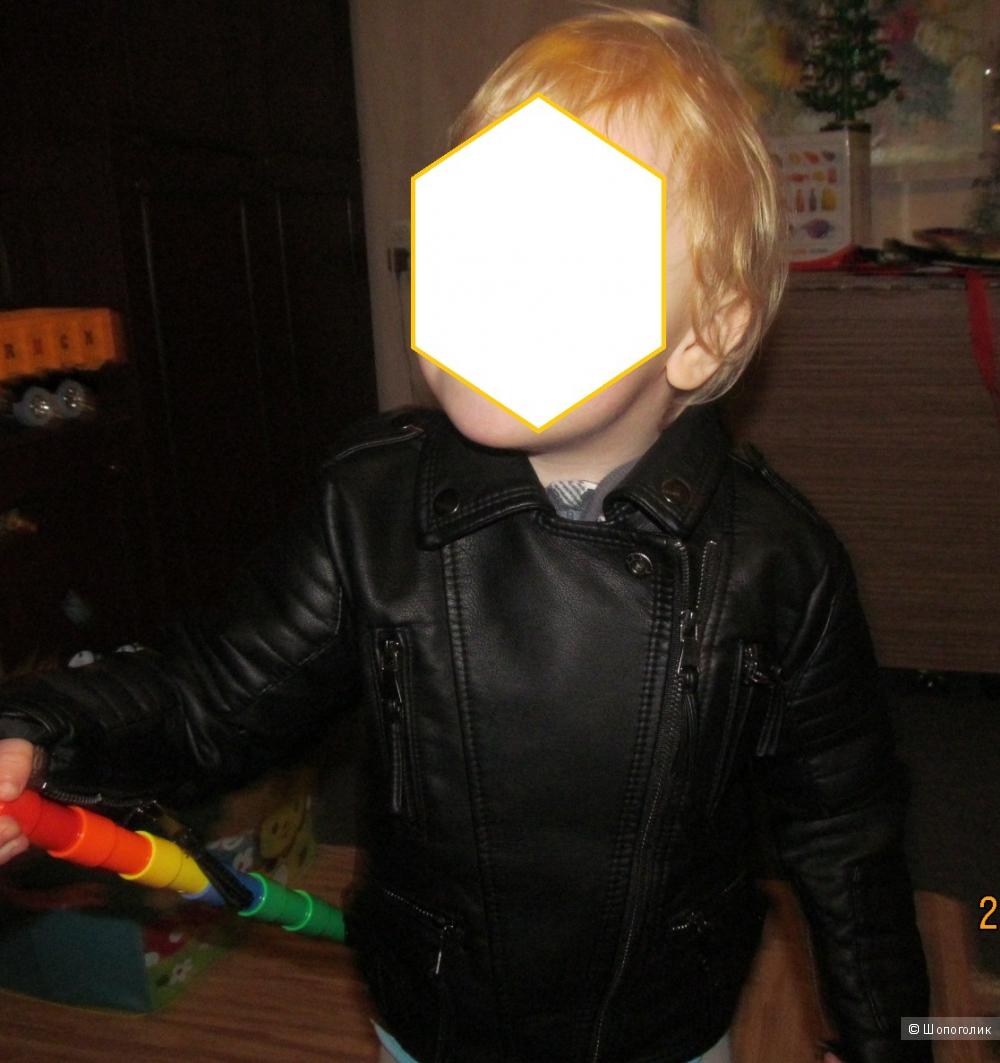 Куртка кожаная Zara kids
