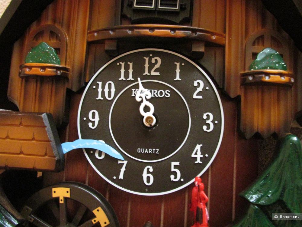 Часы с кукушкой и оленем