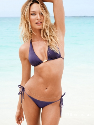 Купальник Victoria's Secret, верх Swim The Sexiest Triangle Top, р. S, низ The skimpy string bottom, р. S