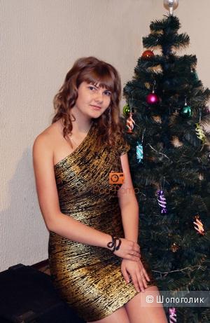 Бандажное платье, копия herve leger