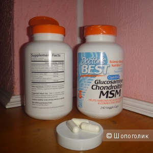 Глюкозамин хондроитин от doctor best