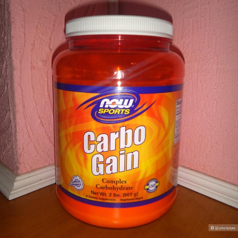 Гейнер Carbo Gain от Now Foods