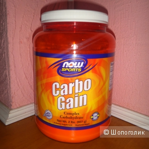 Гейнер Carbo Gain от Now Foods