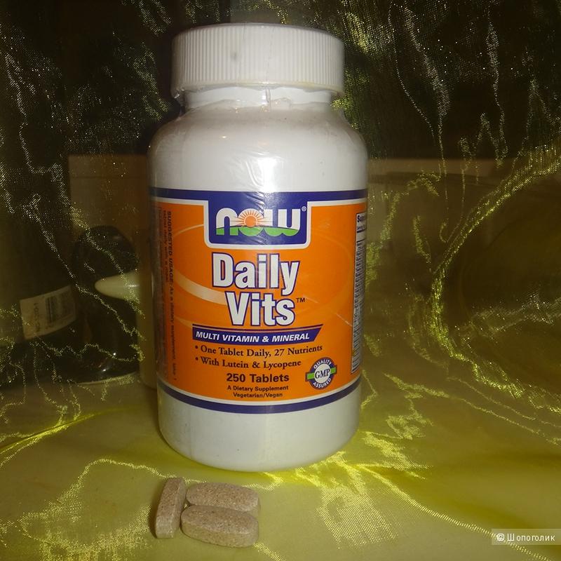 Ежедневный комплекс витаминов Now foods