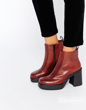 Ботинки женские кожаные, р. 39