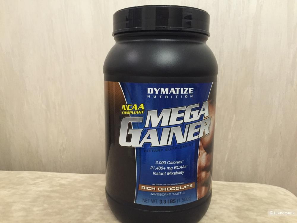 Самый лучший гейнер Dymatize Nutrition Mega Gainer