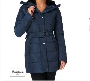 Продаю куртку синего цвета, Pepe Jeans, р. S