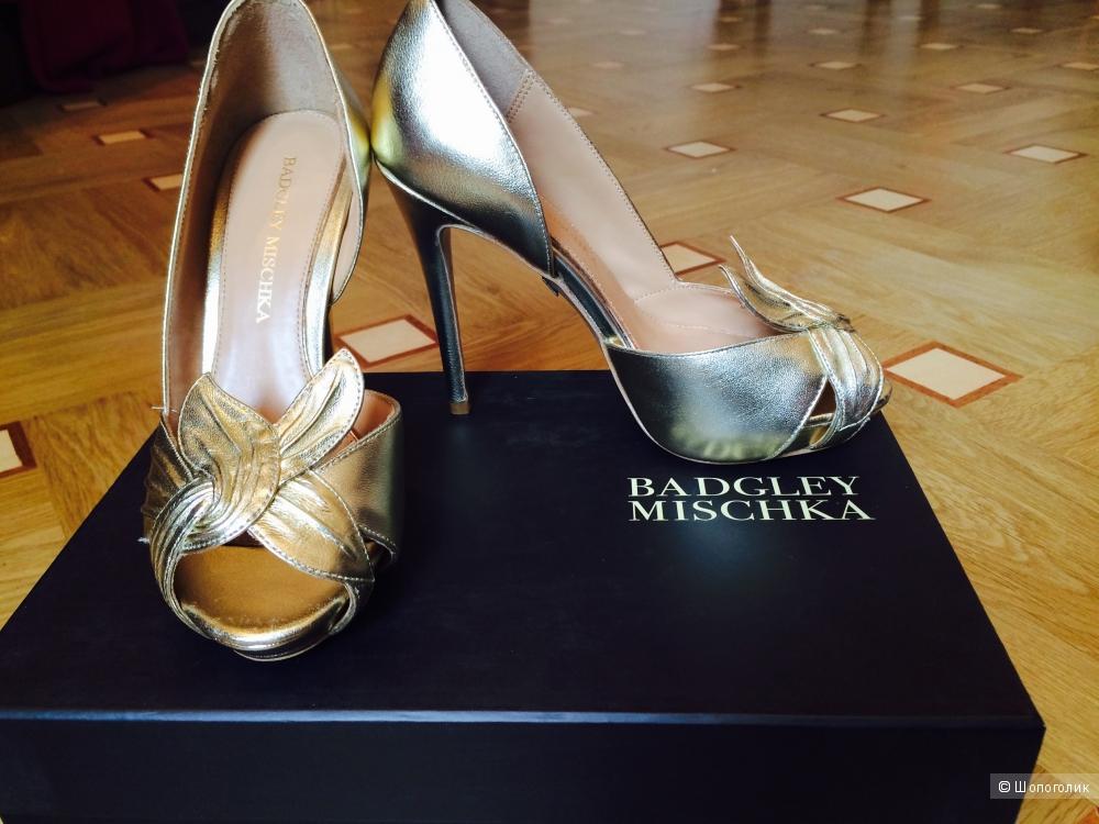 Продаю туфли, Badgley Mischka, р. 5.5 US (наш 35,5-36)