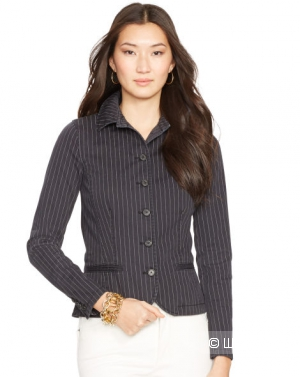 Пиджак женский в полоску, Ralph Lauren, р. 12 US