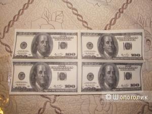 """Прикольные салфетки """"валюта"""""""