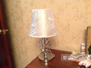 Лампа настольная с перламутровым узором (китайская вилка)