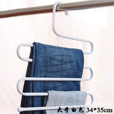 Вешалка металлическая для брюк многофункциональная