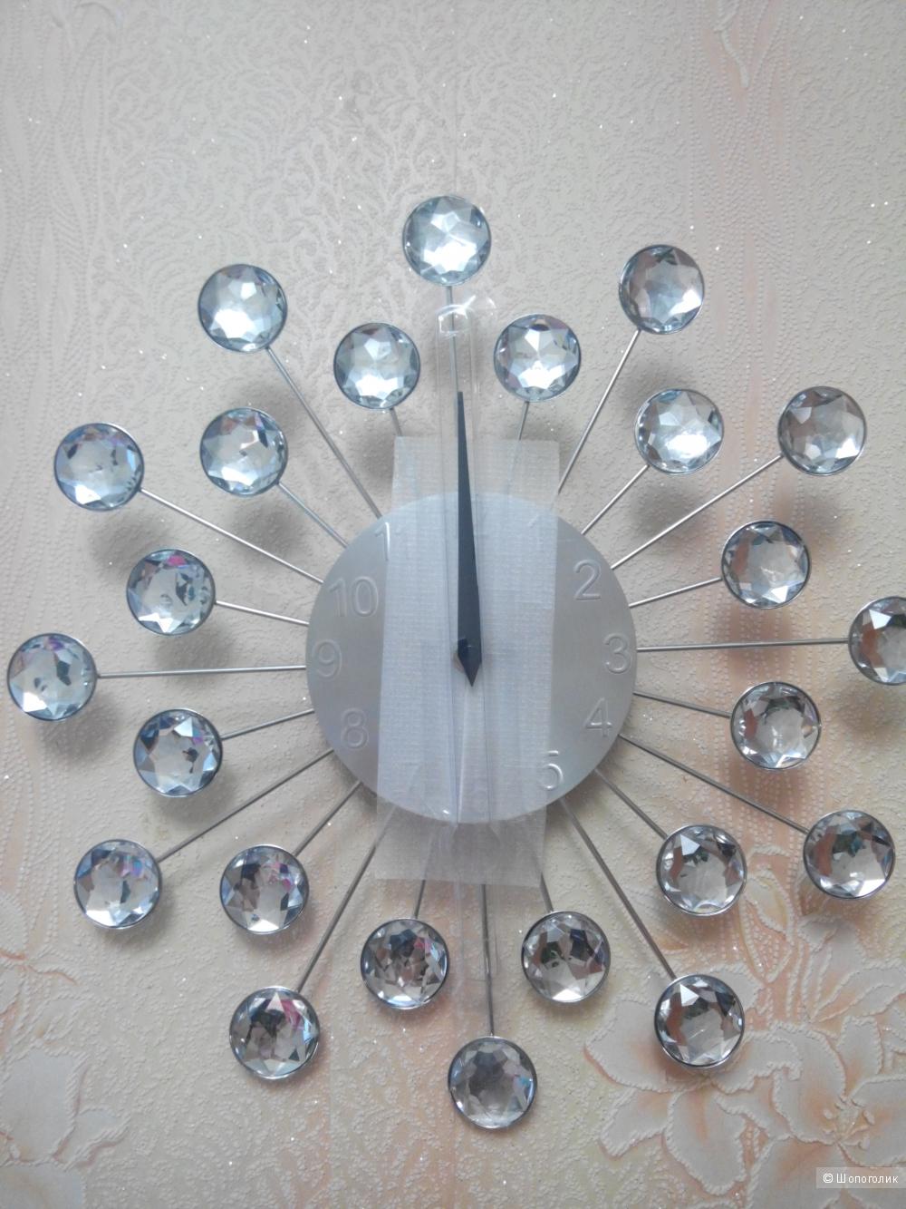 Часы с бриллиантами настенные