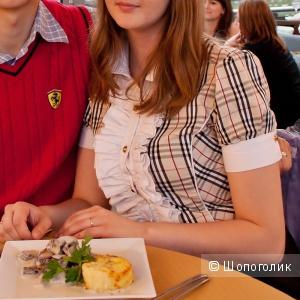Женская рубашка-боди с короткими рукавами