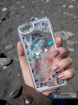 Яркий бампер на айфон