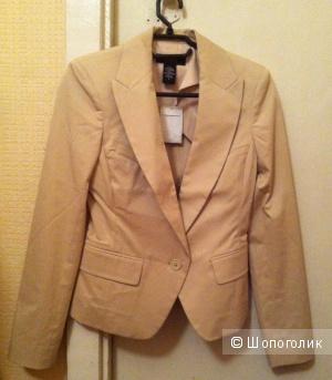 Продам новый пиджак, цвет светло песочный, Victoria`s Secret, р. XS