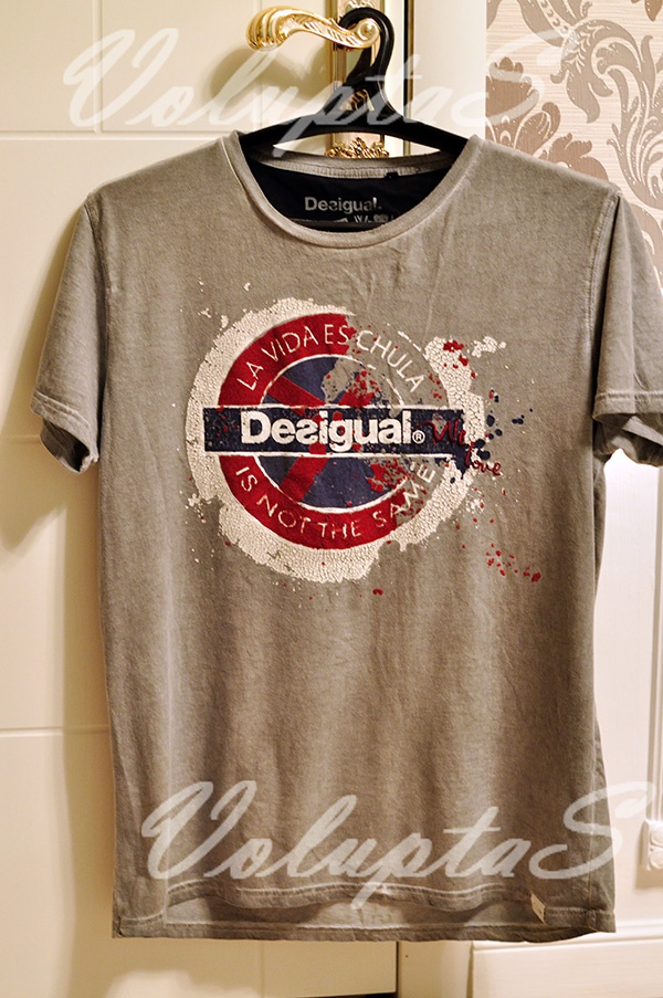 Мужская футболка Desigual бомж-стайл