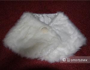 Свадебная накидка-болеро из искусственного меха