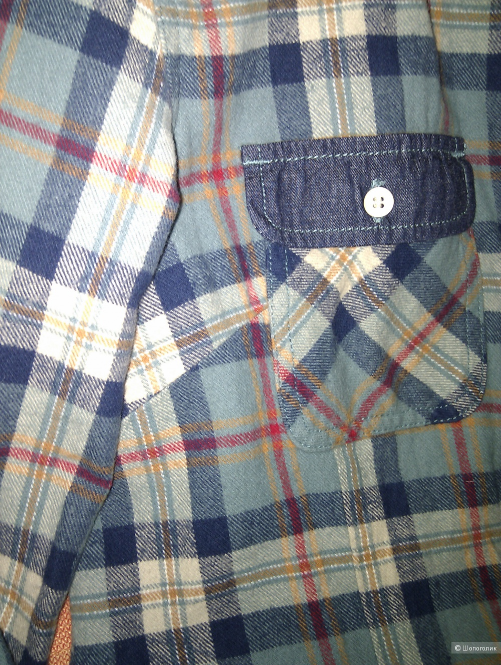 Рубашка-шотландка  марки KAMA