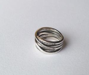 Серебряное кольцо в стиле Pandora