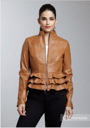 Продаю кожаную куртку от Bagatelle, р. M