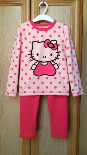 Теплая пижама с Китти