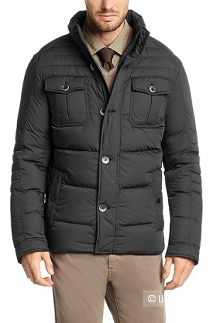 Продаю мужскую куртку-пуховик, настоящий BOSS, р. 48 EU