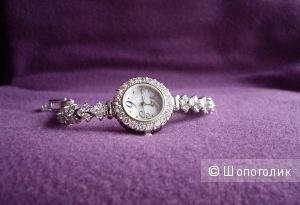 Часы браслет с фианитами Royal Crown