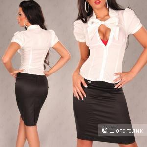 Продам блузку Lulumary, Германия, цвет белый, новая с бирками, р. М