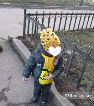 Шапка детская удобная и модная