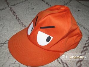 Кепка оранжевая, прикольная