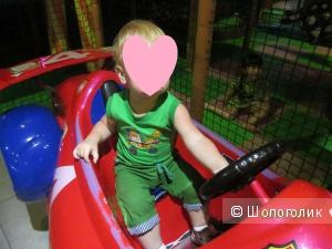 Шорты детские, зеленые