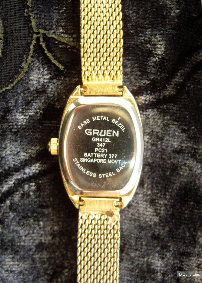 Часы Gruen женские с камушками